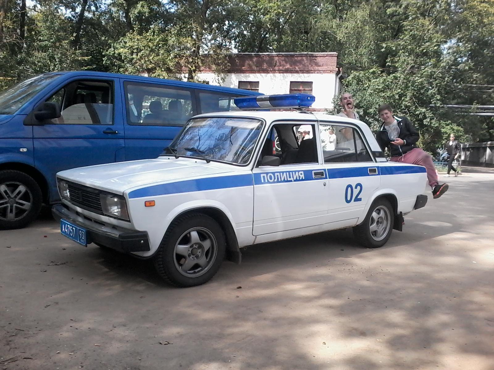 полиция ваз2105 1000р., 4+1