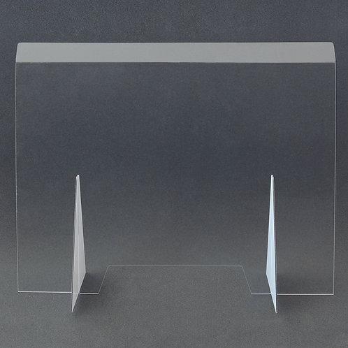 Hygieneschutzwand aus Plexiglas  900 x 730 mm