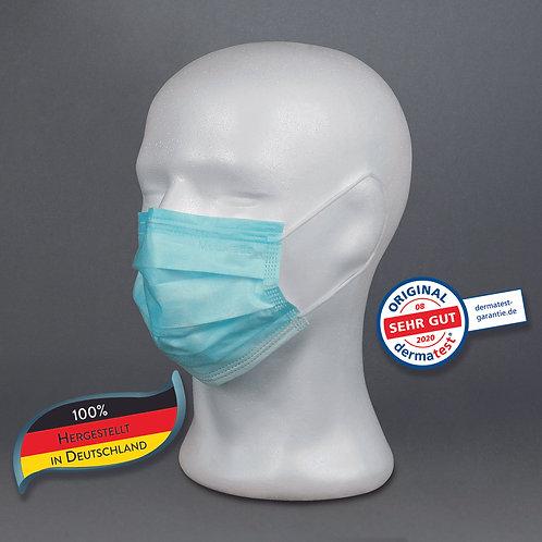 """Behelfs-Mund-Nasen-Schutz """"classic blue"""" 50 Stk."""