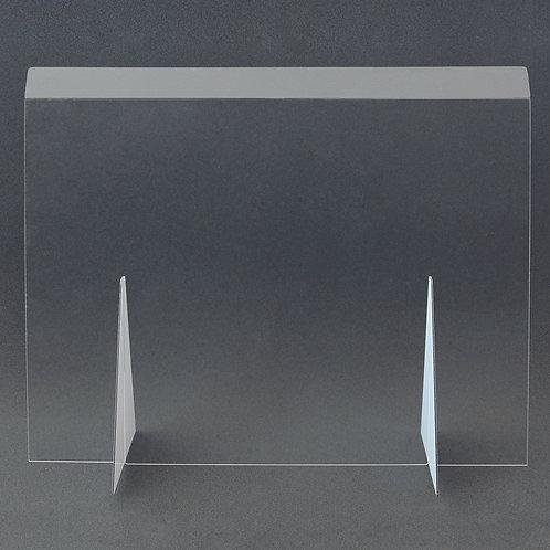 Hygieneschutzwand aus Plexiglas  1200 x 730 mm