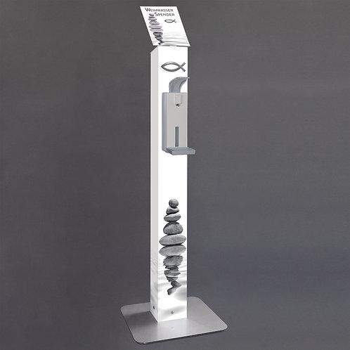 Modern gestalteter manueller Weihwasserspender