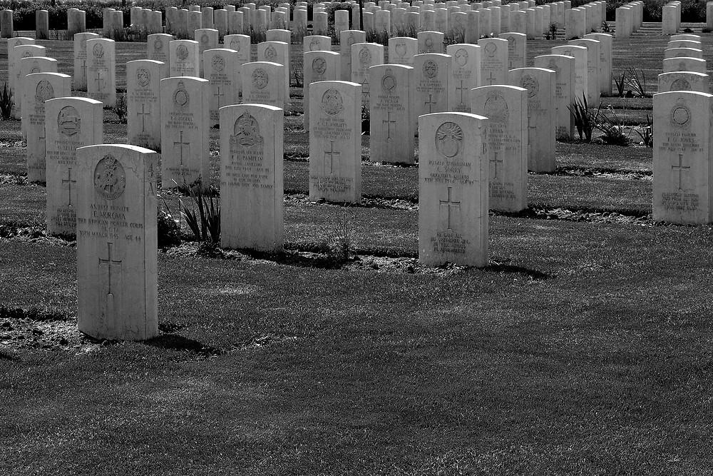 Cimitero della seconda guerra mondiale