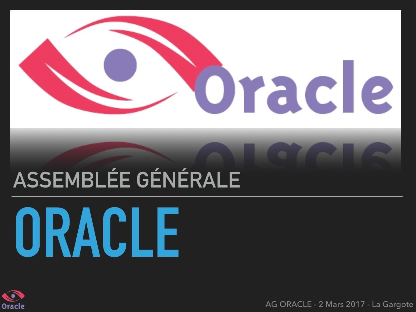 Assemblée générale Oracle