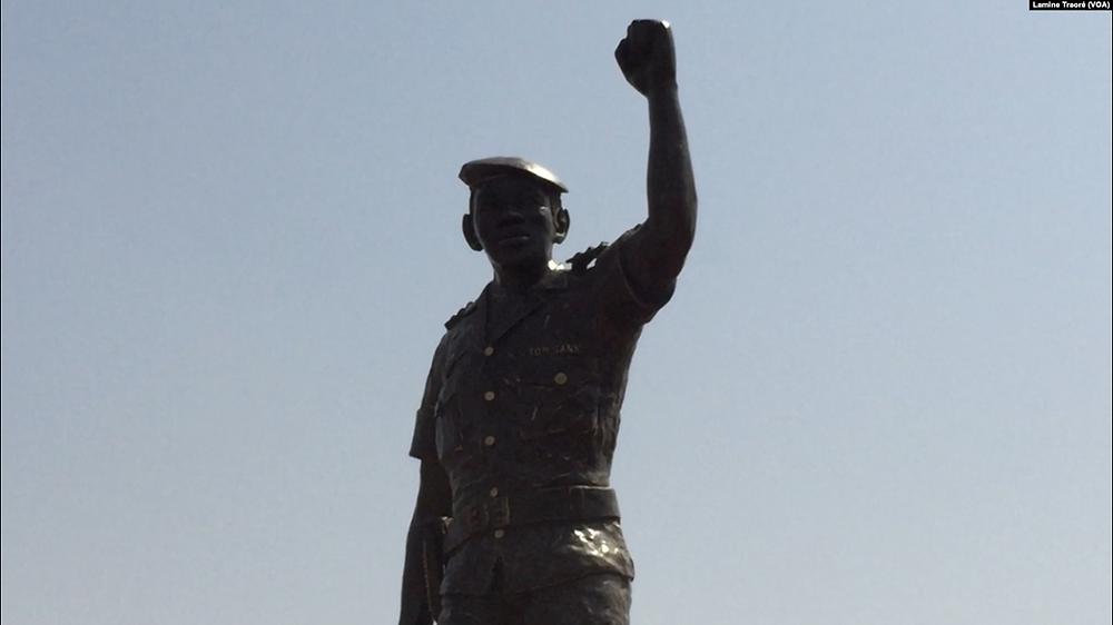 Statua in ricordo di Sankara