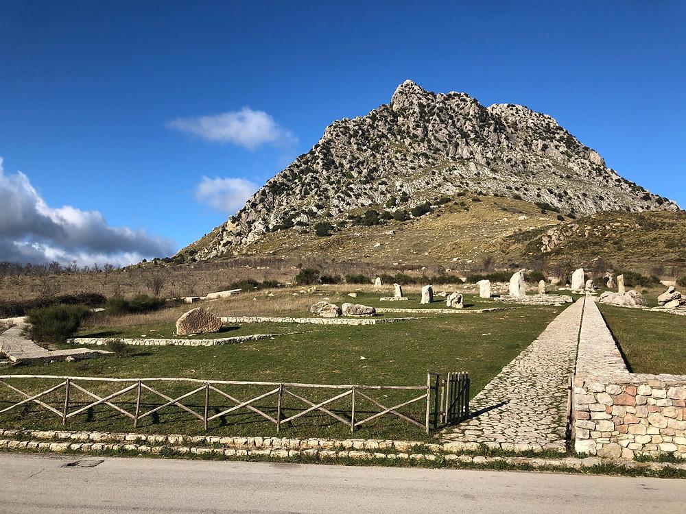 Panorama in provincia di Palermo