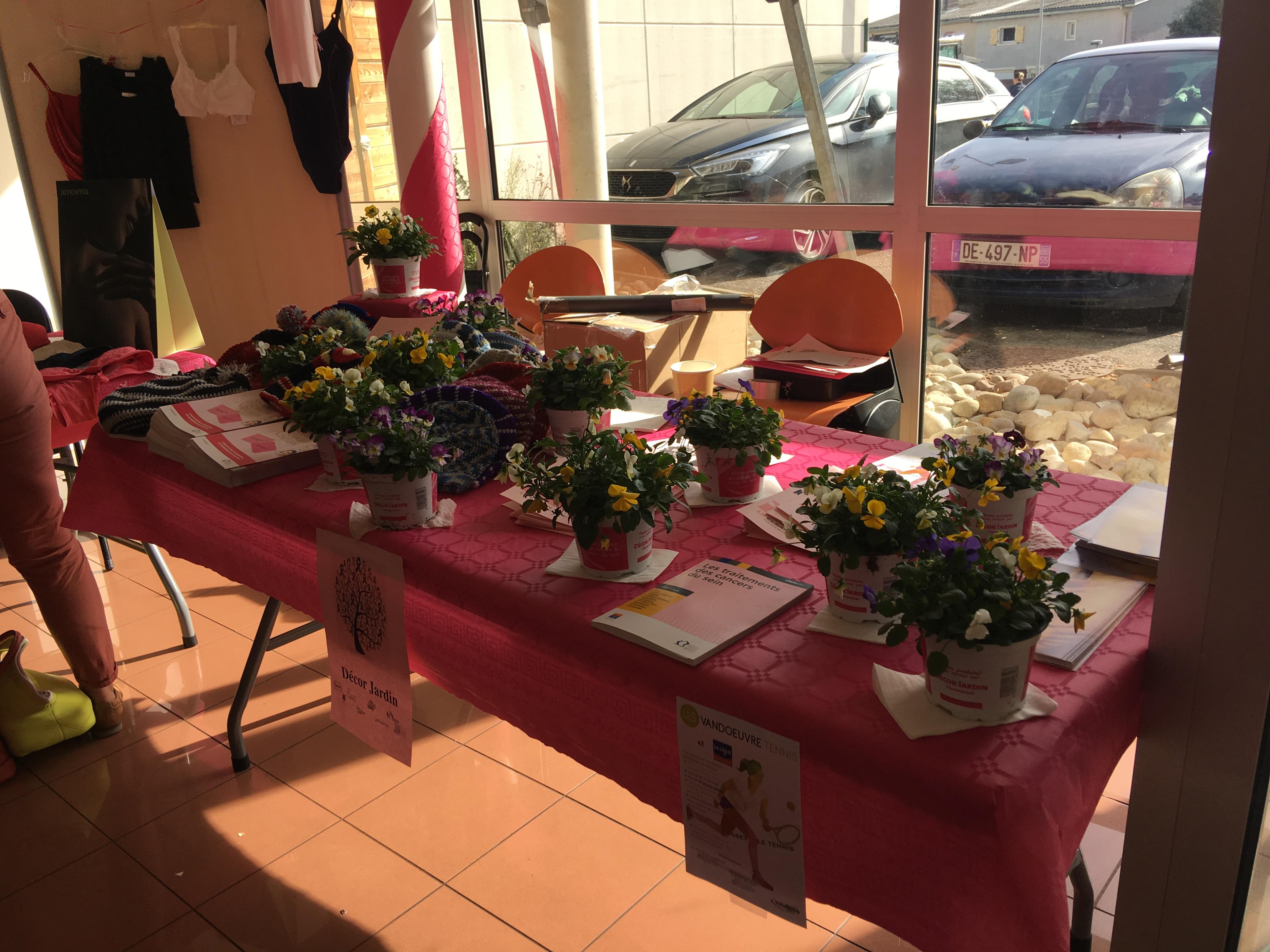 Des bouquets de fleurs pour la bonne