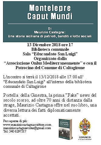 Locandina Caltagirone