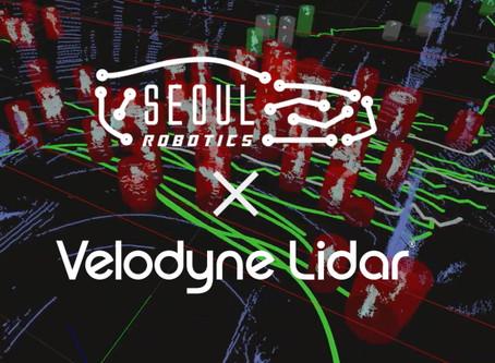 Velodyne X Seoul Robotics
