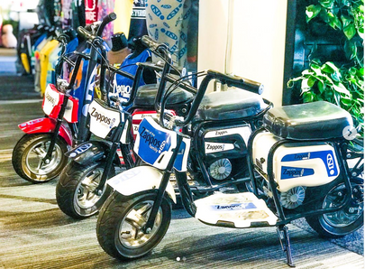 Custom electric mini bikes