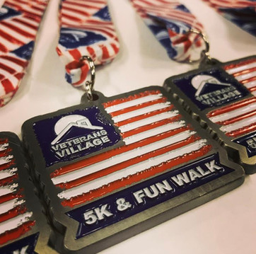 Race medals for your charity 5K