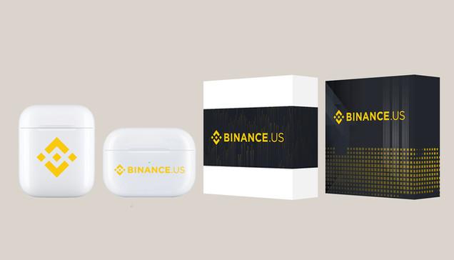 Binance Airpods W/custom packaging.jpg
