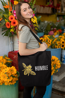 Two color inspirational tote for the tea