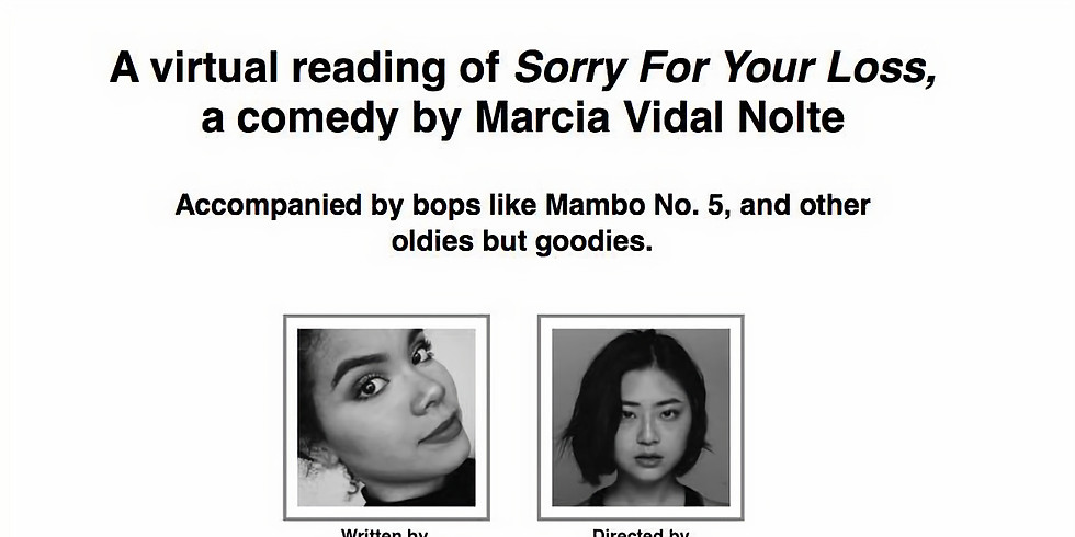 'Sorry For Your Loss' Live Stream Reading