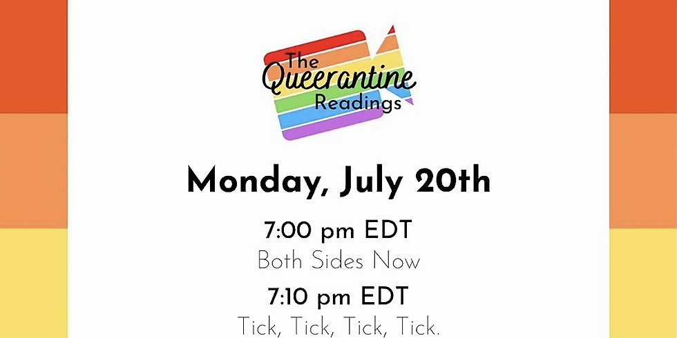 """The Queerantine Readings - """"The Last Two on Earth"""" by Marianna Rappa"""