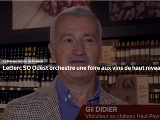 [Foires aux Vins] Château Haut Peyrat s'est déplacé à la grande foire aux vins de Leclerc SO Oue