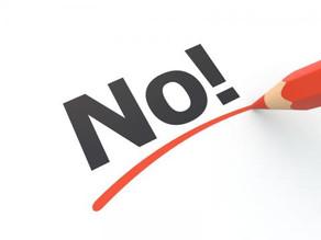 Zeg 'neen' zonder negatief te zijn