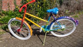 Bewonder het sociaal-artistieke kunstproject In de Ban(d) van de Fiets in Herentals