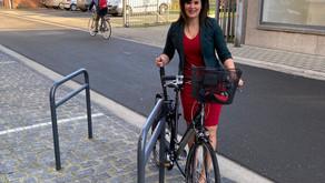 Herentals pioniert met fietsvlonders
