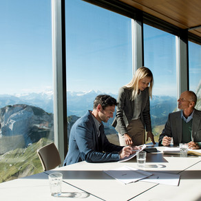 La Suisse comme lieu de réunion