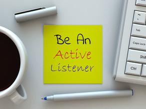 Scherp uw actieve luistervaardigheden aan