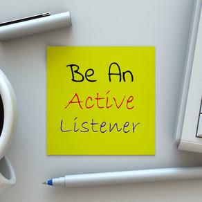 Aiguisez vos compétences d'écoute active