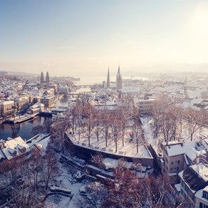 Hiver à Zürich