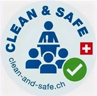 Clean & Safe label pour les réunions en Suisse