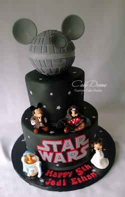 Disney Star Wars Icing Smiles