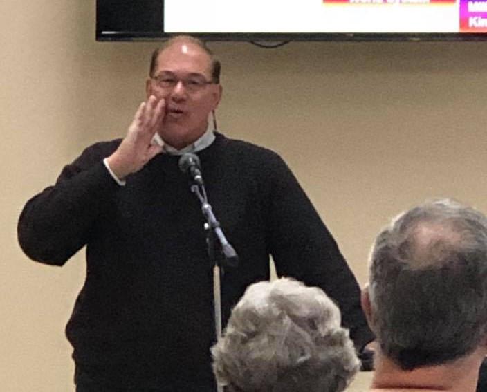 April 15, 2018-Dr. Schmidt speaking in Greenfield, WI