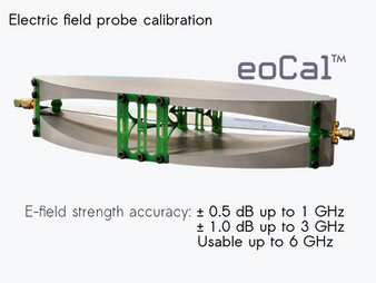 Electric field probe calibration: key for accurate measurements