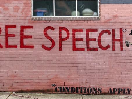 Legislation Regarding Institutions Grasp over Free Speech