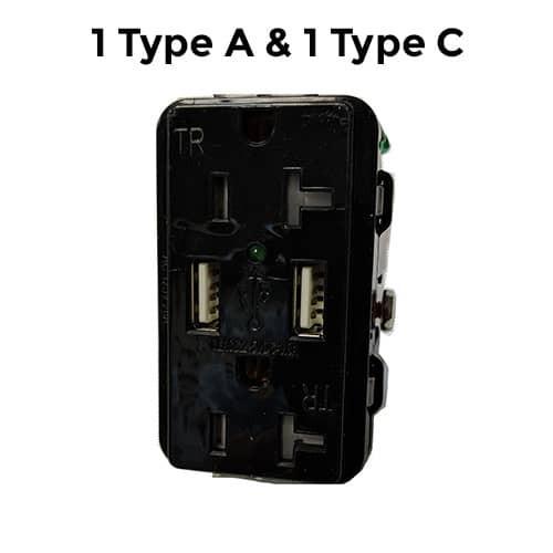 1 Type A 1 Type C