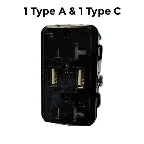 1 Type A 1 Type C