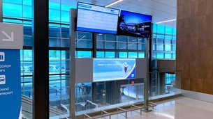 Digital Signage Display - FIDS