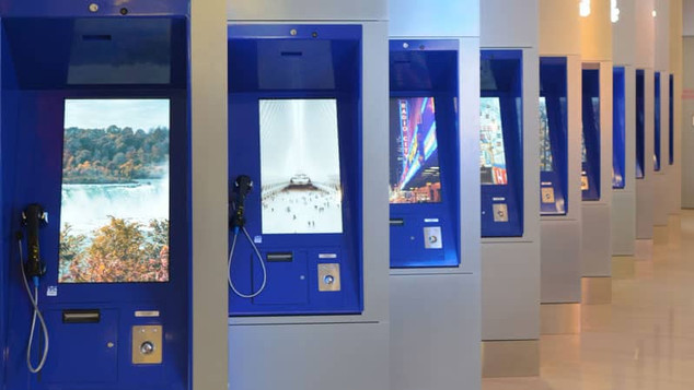 Telephones Kiosks-LGA-TB