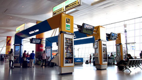 Parabit's Welcome Centers are a complete self-service solution to arriving Airport passengers