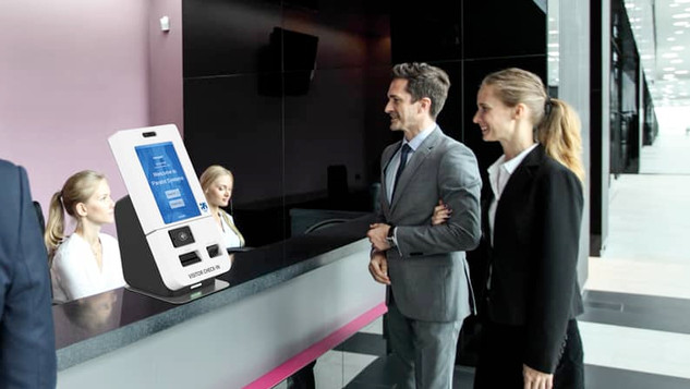 Apollo - Self Check-In Desk Top Kiosk