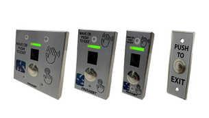 Wave & Push Exit Buttons