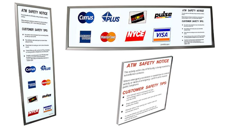 Logo Panels &  Safety Notices