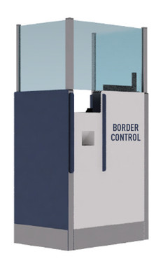 Security Checkpoint/Ticketing Podiums