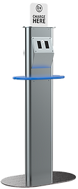 Oblong Front Power Stanchion