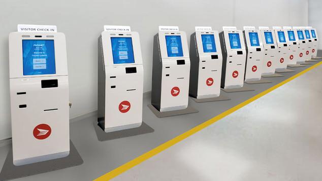 Canadian Post Office CUSS Kiosks