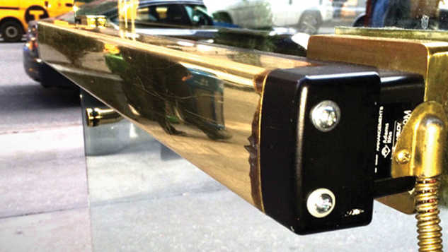 Push Bar Gold