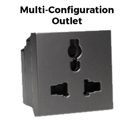 Multi Configuration Outlet