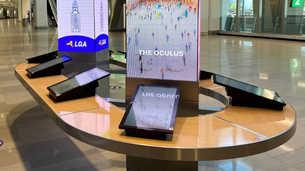 Information and Digital Display Island