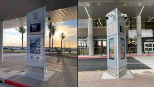 Digital Signage Displays - Curbside Pylon