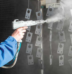 Antimicrobial Powder Coating