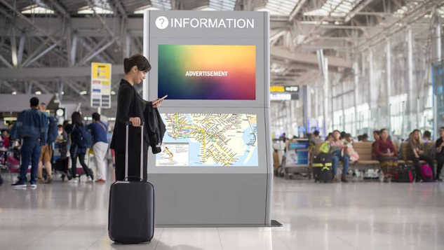 Digital Signage Displays - Dual Atlas