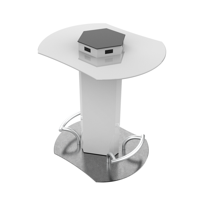 Round Charging Cocktail Table