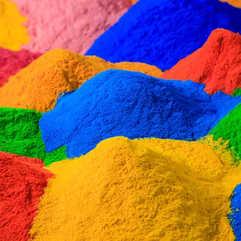 Antimicrobial Powder Coating - colors